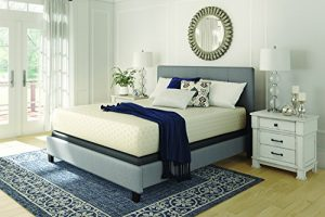 Sierra Sleep by Ashley Chime by Ashley 12 Inch Chime Express Memory Foam Mattress – Bed in a Box – Queen – White