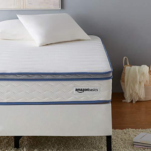AmazonBasics Hybrid Mattress – Memory Foam With Strong Innerspring Support – Medium Feel – CertiPUR-US – 10-Inch, Twin XL
