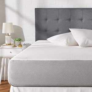 AmazonBasics Memory Foam Mattress – 12-Inch, Twin Size – Soft Bed, Plush Feel, CertiPUR-US Certified, Breathable, Easy Set-Up