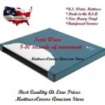 California King semi waveless waterbed mattress with zipper cover & Heater