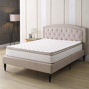Classic Brands Pillow-Top Innerspring 10-Inch Mattress, Queen