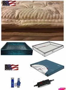 King Softside Waterbed Mattress with Cotton Pillow Top & 95% Waveless