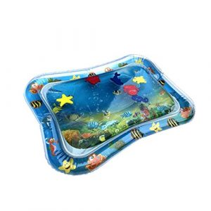 KLFGJ Inflatable Baby Water Mat Fun Activity Play Center for Children & Infants Floating Pad Water Coloring Drawing Mat
