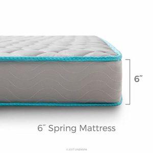 Linenspa 6 Inch Innerspring Mattress – Full