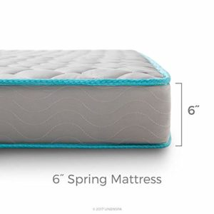Linenspa 6 Inch Innerspring Mattress – Twin XL