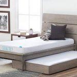 LUCID 5 Inch Gel Memory Foam Mattress – Dual-Layered – CertiPUR-US Certified – Firm Feel – Twin XL Size