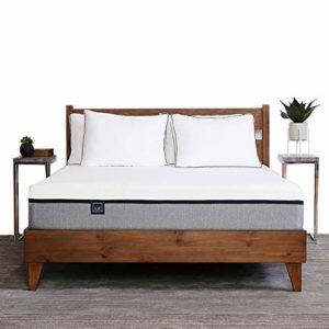Lull King Mattress, 3 Layers of Premium Memory Foam Provide Comfort and Therapeutic Support, 100 Night Trial and 10-Year Warranty