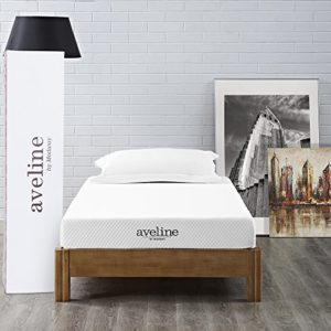 Modway Aveline 6″ Gel Infused Memory Foam Twin Mattress With CertiPUR-US Certified Foam – 10-Year Warranty – Available In Multiple Sizes