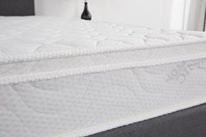 Oliver Smith – Organic Cotton – Euro Top – Revitalize Sleep – 8 Inch – Pocket Spring – Luxury Mattress w Green Memory Foam Certified – Twin