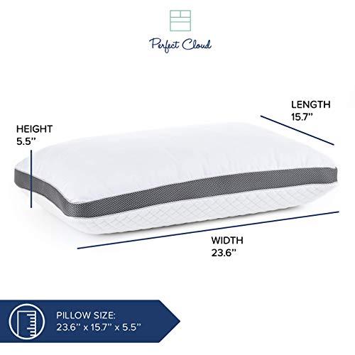 Perfect Cloud Ultraplush 10-Inch Memory Foam Mattress and Diamond Rest Memory Foam Pillow Bundle (RV Short Queen)