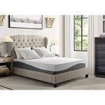 Rosevera 12″ Natural Latex with Multi Layered Gel Memory Foam Mattress- Medium Feel – CertiPUR-US Certified,Queen