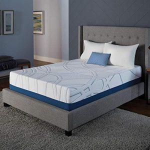 Serta SleepToGo 12″ Gel Memory Foam Luxury Mattress King