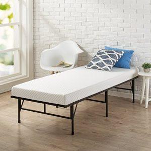 Zinus Memory Foam 4 Inch Mattress, Narrow Twin / Cot Size / RV Bunk / Guest Bed Replacement / 30″ x 75″