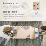"12 Inch Gel Memory Foam Mattress, 3 Layers Hybrid Mattress – Medium-Firm Feel – Full, 54"" x 75"" x 12"""