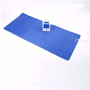 L-ELEGANT Ice Mattres Cooling Water Mattress Cooling Bed Conditioning System – for Home, Dorm Room, Apartment and Hostel, Cool in Summer,Blue-160x70cm