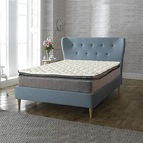 Nutan 12-Inch Double Sided Foam Encased Double Pillow Top Medium Plush with Exceptional Back Support innerspring Mattress,Queen Size