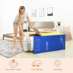 Full Size Mattress, Sweetnight 10 Inch Memory Foam and Hybrid Innerspring Mattress, Comfort Body Support & Pressure Relief Medium Firm Mattress