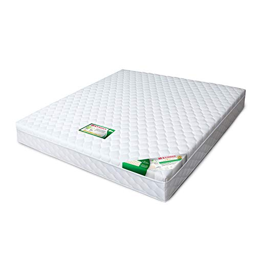 KYMDAN Special Deluxe Pillow Top Natural Latex Mattress, 02-Layered Structure, 15-Year Limited Warranty (King, 10″ Thick)