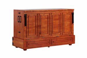 Murphect Murphy Cabinet Bed with 6 Inch Memory Foam Mattress