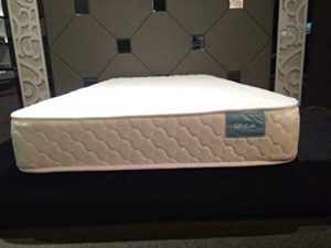 Qistar Memory Foam and Built-in Hybrid Spring Mattress with Removable Soft Cover, Thick Breathable Full-Body Support Double Bed (White)