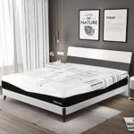 """Warm Harbor 12 Inch Queen Mattress,4 Layers Memory Foam Mattress with CertiPUR-US Certified Bamboo Charcoal Foam Breathable Supportive Bed in a Box … (Queen(12""""))"""