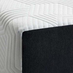 LUCID 10 Inch 2020 Gel Memory Foam Mattress – Medium Plush Feel – CertiPUR-US Certified – Hypoallergenic Bamboo Charcoal – Queen