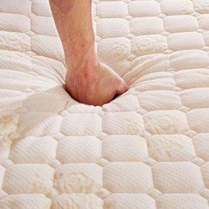 Mattress,Memory Foam Mattress Classic Design Thick Warm Comfortable Beds,Blue 10cm,150x200cm