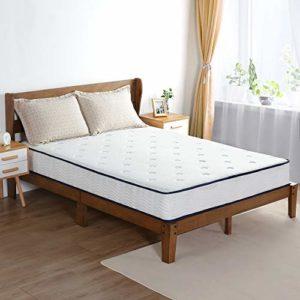 Olee Sleep 9 Inch Breeze Gel Memory Foam Innerspring Mattress, CertiPUR-US Certified, Twin
