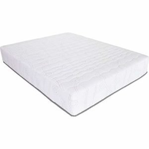 Twin Size 75 x 39 x 11 inches Innerspring Mattress with Cool Gel Memory Foam Layer