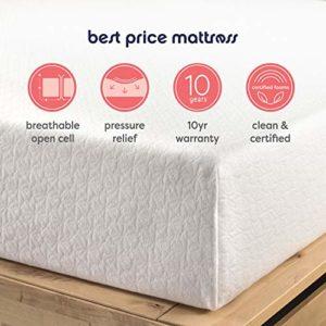 Best Price Mattress 10-Inch Memory Foam Mattress, Full