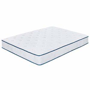 Olee Sleep 10 Inch Skyline Gel Infused Memory Foam InnerSpring Mattress, Mattress in a Box, Queen