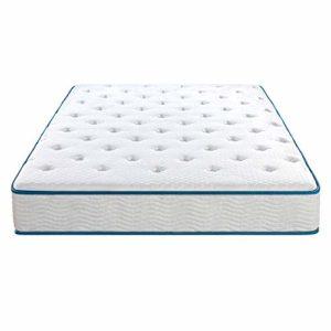 Olee Sleep 10 Inch Skyline Gel Infused Memory Foam InnerSpring Mattress, Mattress in a Box, Twin