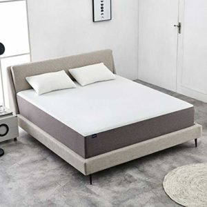 8 Inch Twin Size Memory Foam Mattress More Breathable Bed Comfortable Mattress, White