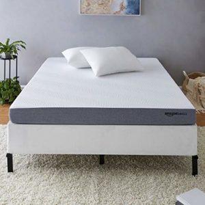 AmazonBasics Ventilated Cooling Gel Memory Foam Mattress – Firm Feel – 5 inch, Cal King