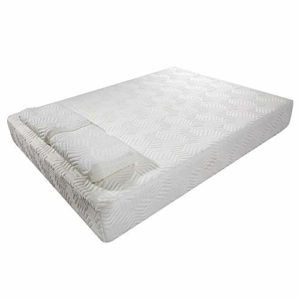 GUBA Two Layers Traditional Firm High Softness Cotton Mattress with 2 Pillows Full Size Mattress 10 Inch Gel Memory Foam Full Mattress for Cool Sleep & Pressure Relief