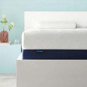 IYEE NATUREGel Memory Foam Mattress,Foam Bed Mattress with CertiPUR-US Certified Medium Firm Foam Mattress for Sleep Supportive & Pressure Relief,Bed in a Box
