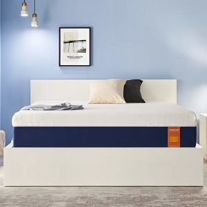 JINGXUN King Mattress 9 Inch Gel Memory Foam King Size Mattress for Cool Sleep & Pressure Relief, Premium Gel Multi Layered Memory Foam Bed Mattress in a Box, Easy Set-Up