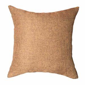 Pillow Cases for Mattress King Rucas, Soft Cotton Fabric Memory Foam Mattress 1 Pack, Brown