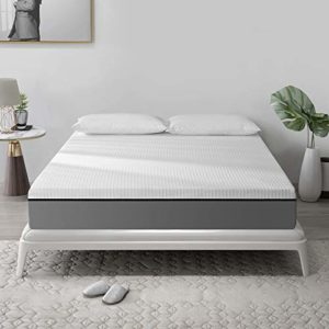 Tuankay 12 Inches Gel & Charcoal Infused Memory Foam Mattress