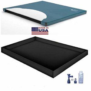 US 60% WAVELESS WATERBED Mattress/Liner/Fill Drain/Conditioner KIT (Super Single 48×84 1US1000S4)